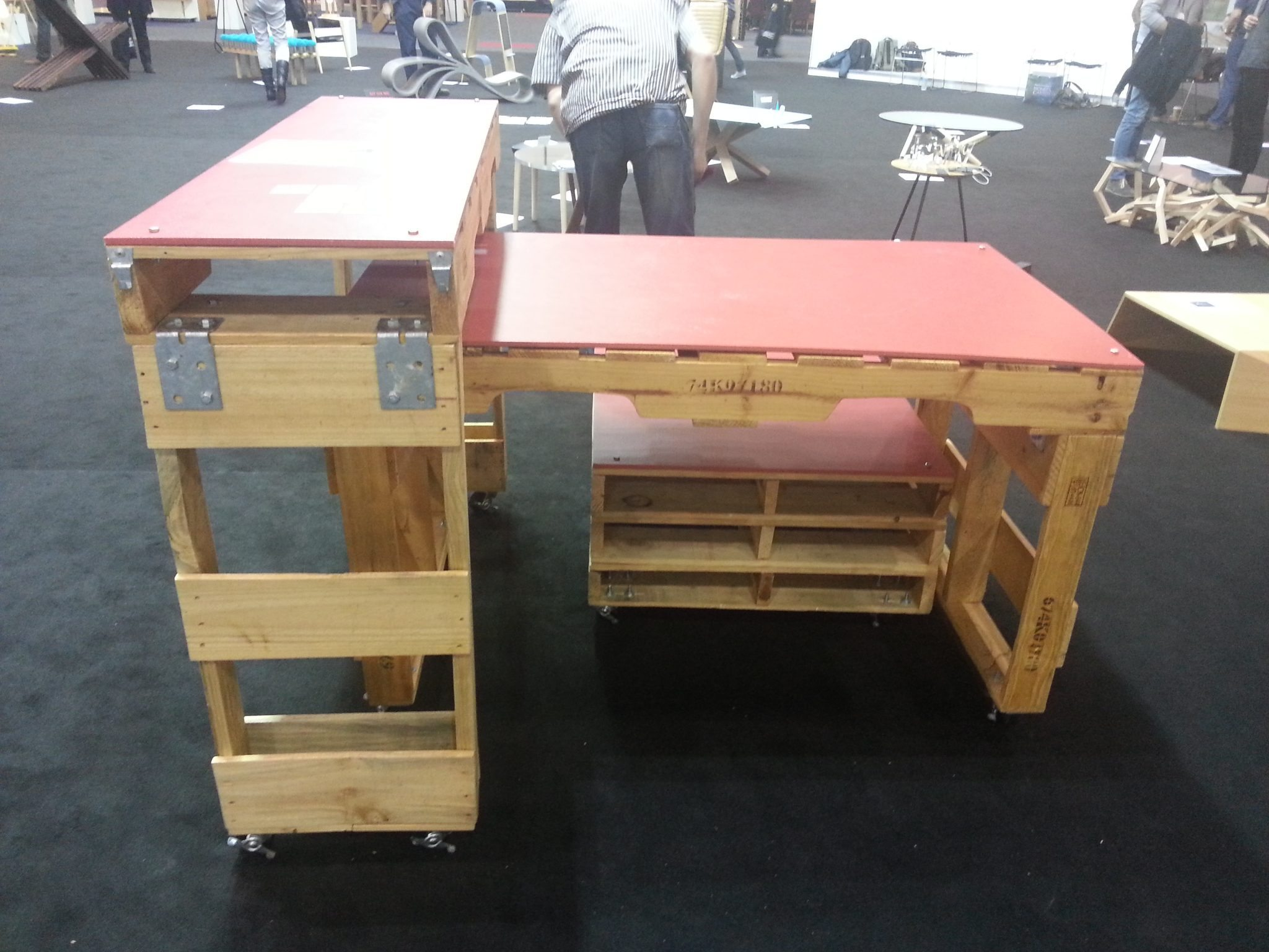 Pallet upcycled furniture by