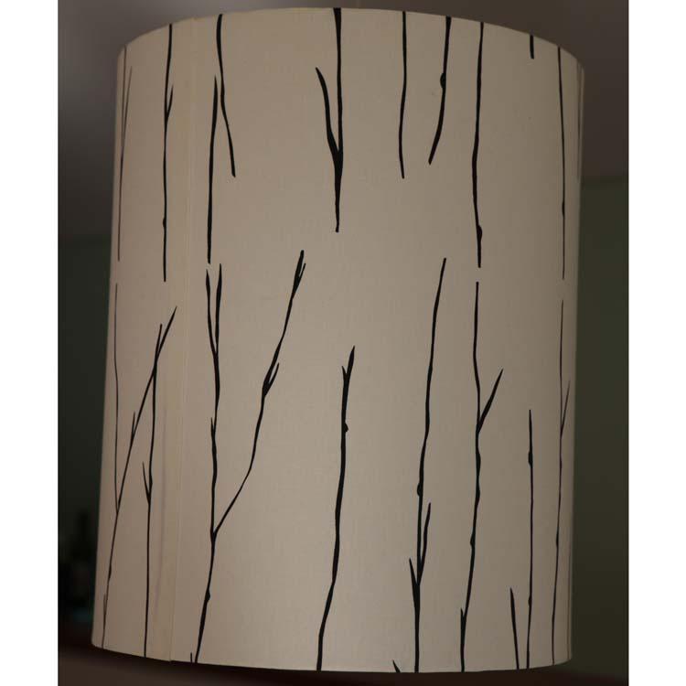 Stems Drum lampshade