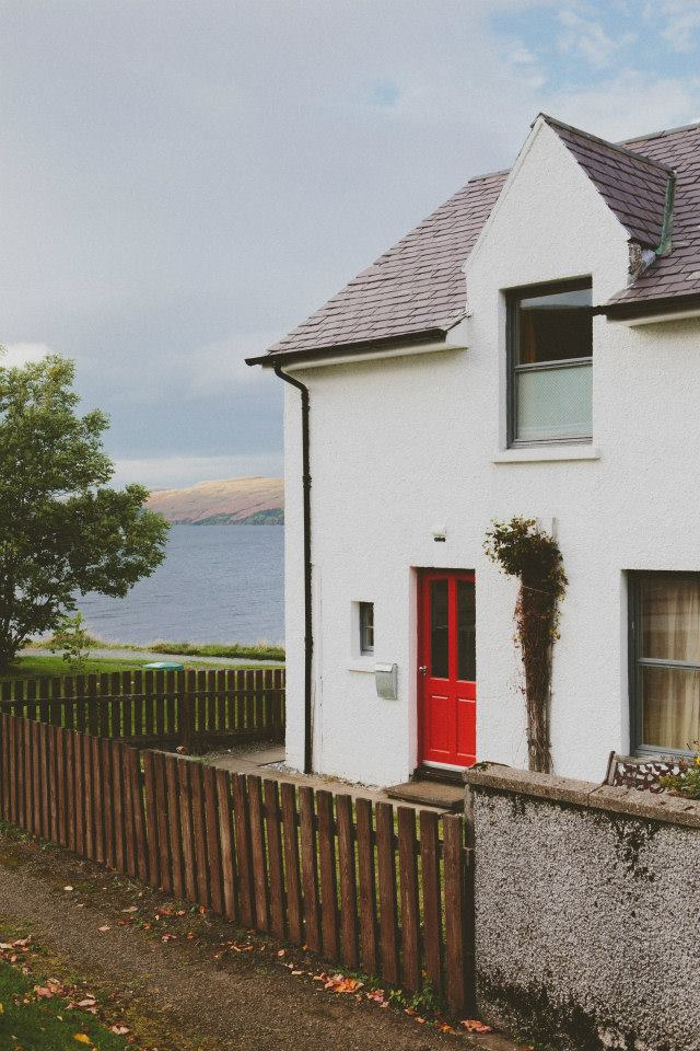 Number One Carbost, retro retreat by the shore of Loch Harport on the awesome Isle of Skye.