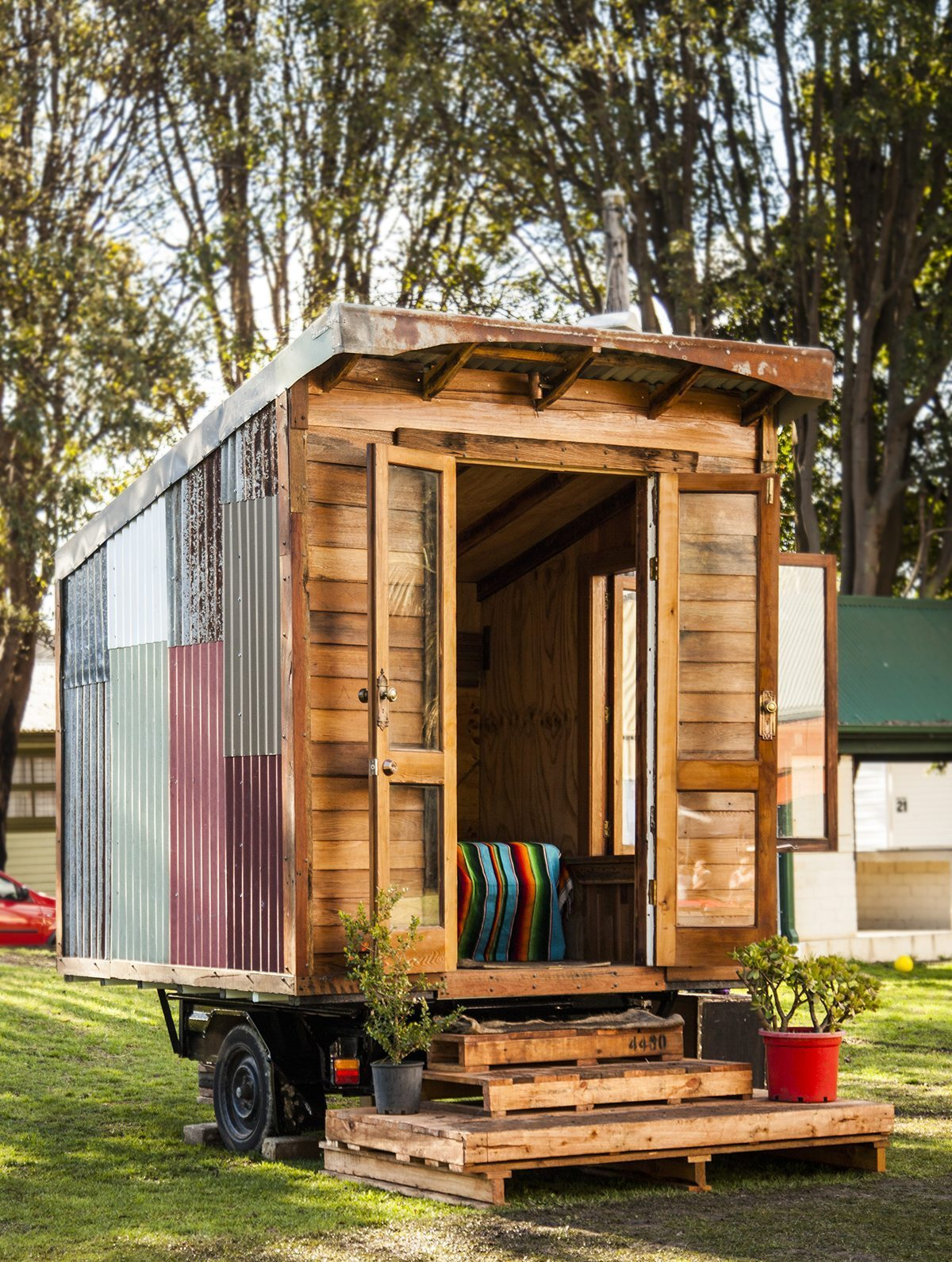 Tiny House by The Bower and The Upcyclist in Sydney