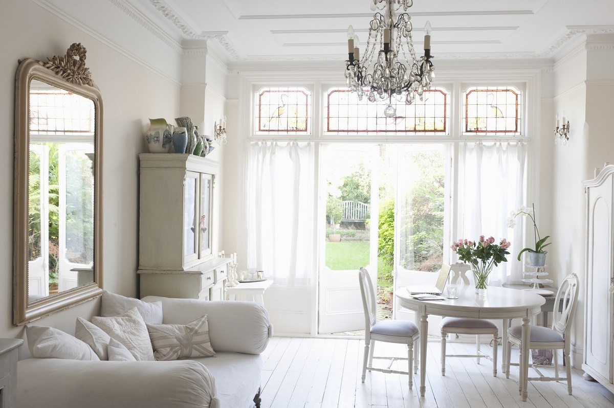 how to create a shabby chic lounge room