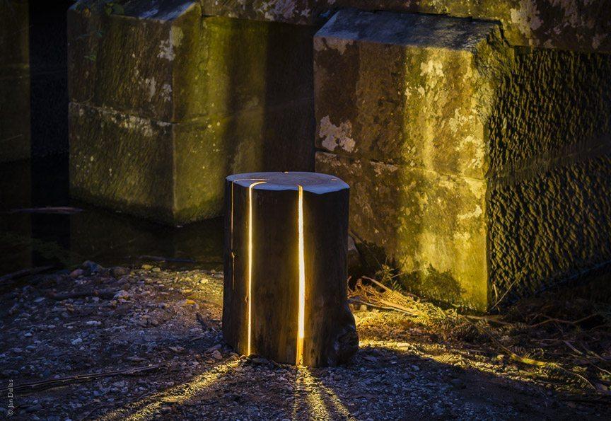 Duncan Meerding Stump Lamp