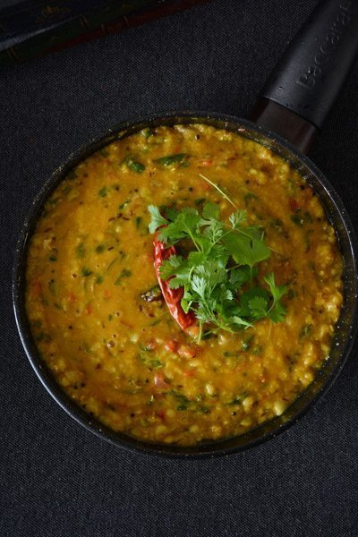 Indian Style Lentil Curry With Fenugreek Leaves Methi Dal Recycled Interiors