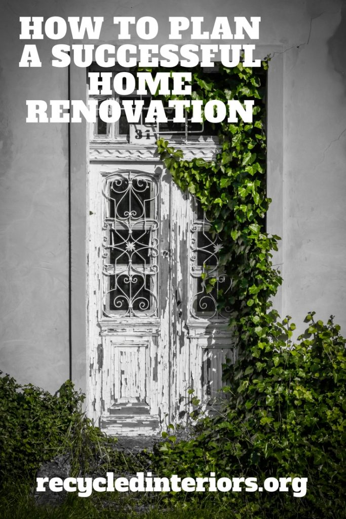tips on how to plan a successful home renovation