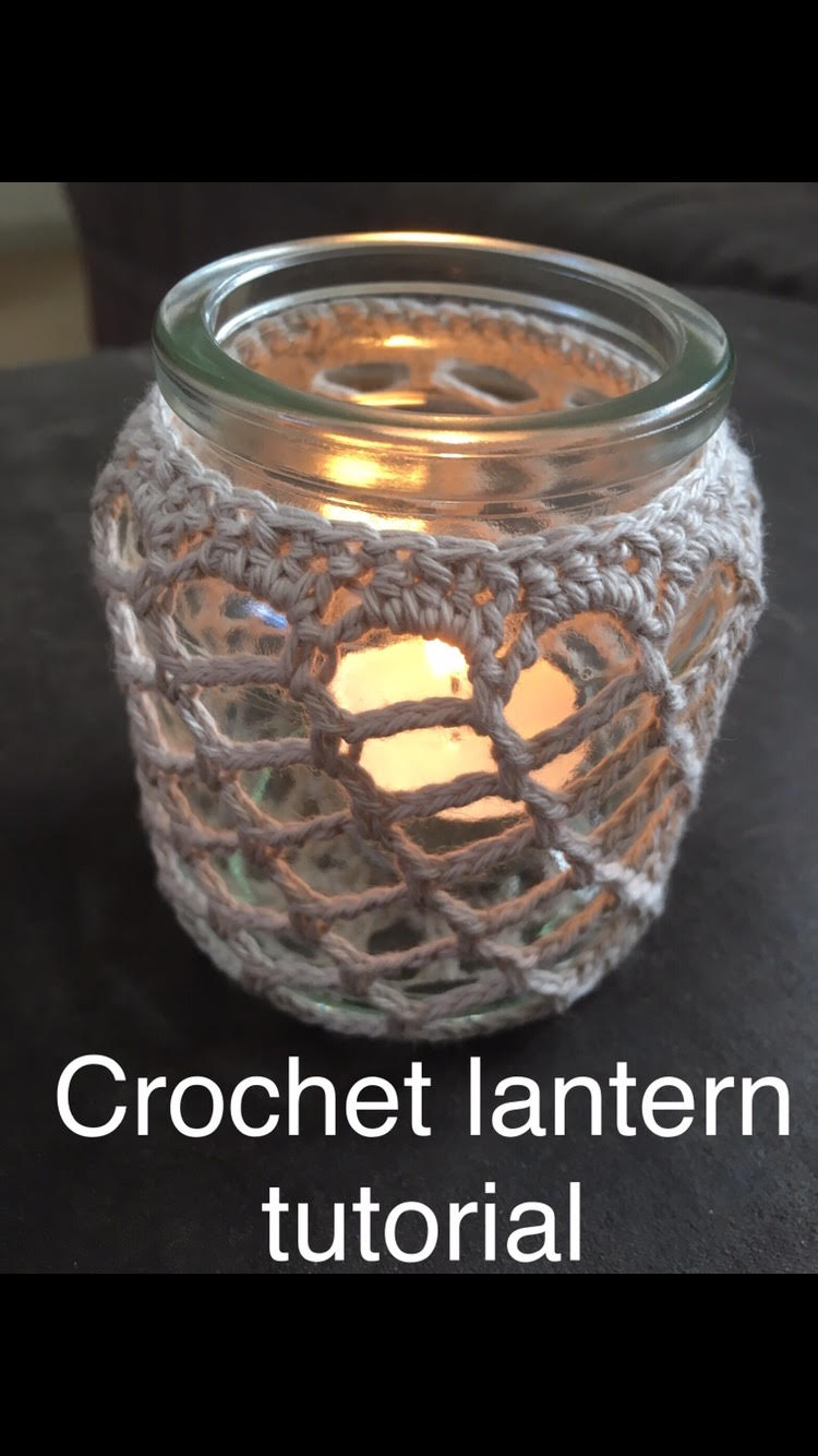 how to crochet a latern 1