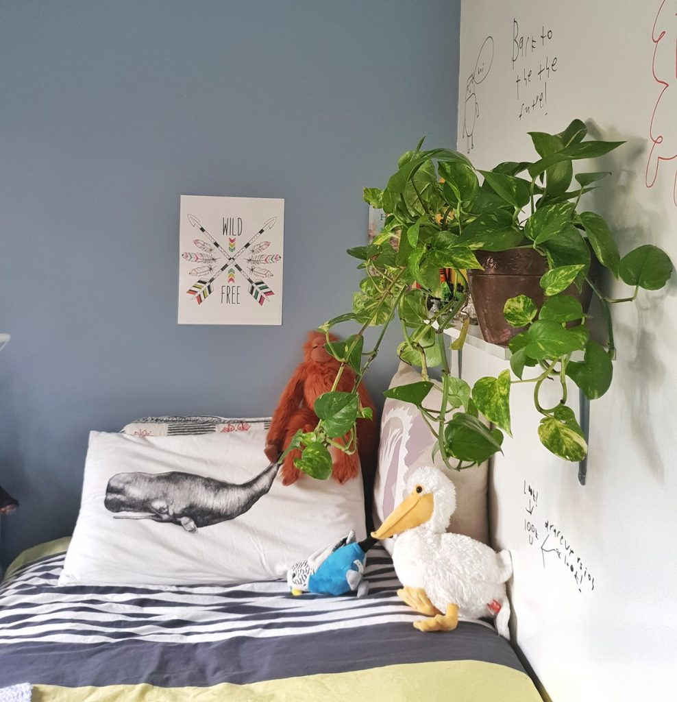 how to create a whiteboard wall your children can write and draw on using Monsta Paint Write Wall whiteboard paint