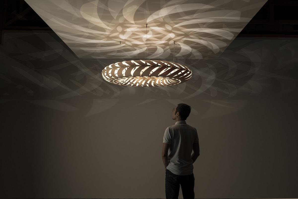 David Trubridge Maru Light