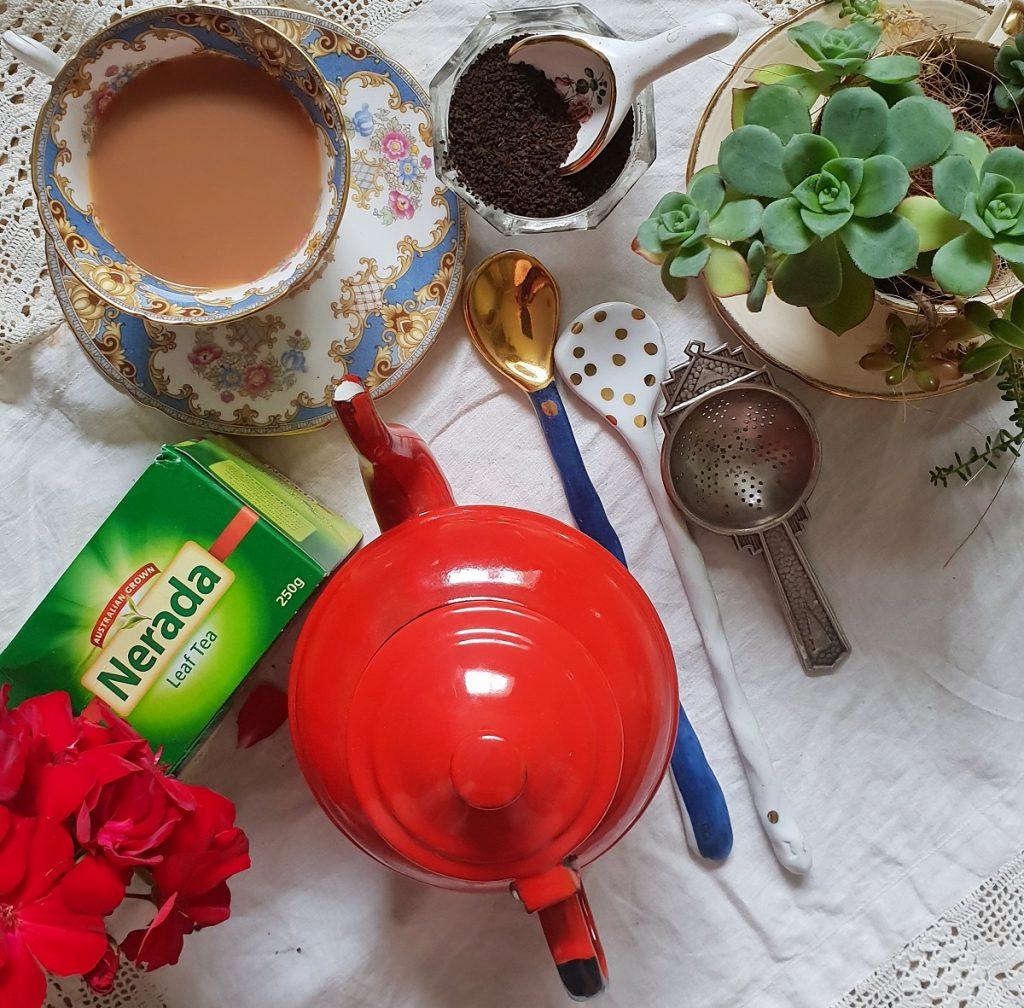Nerada Tea - black tea leaves are Australian grown and rainforest alliance certified