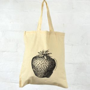 Calico Tote - Strawberry