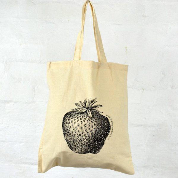 Calico Tote - Strawberry