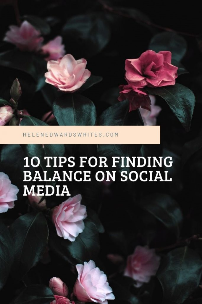 10 tips for finding balance on social media for sustainable activists, health bloggers, artists and writers