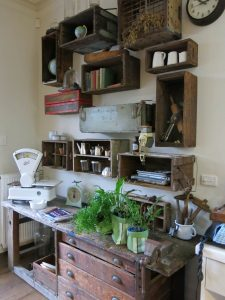 ideas for vintage and upcycled home decor